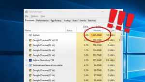 Fix 100% Usage by System and Compressed Memory in Windows 10