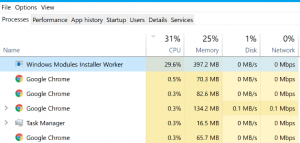 "What is ""Windows Modules Installer Worker"" and how does it work on Windows PC?"