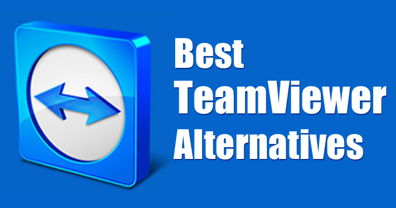 Teamviewer Alternatives for Windows 10/8.1/8/7 – Top 10 List