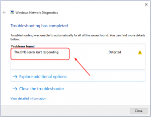 How To Fix DNS Server Not Responding on Windows 10