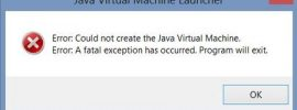 Fix Java Virtual Machine