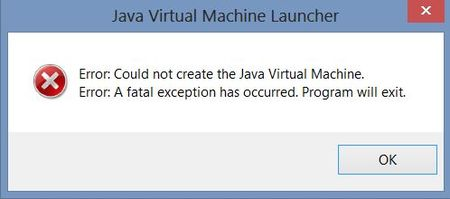 Fix Java Virtual Machine or JVM not found error