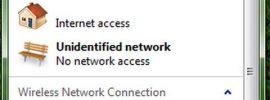 fix Unidentified Network