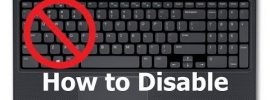 Disable Laptop Keyboard