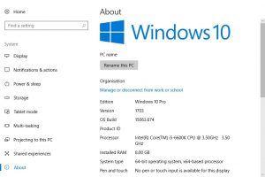 How to Find computer specs windows 10