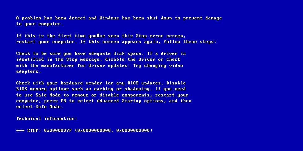 6 Solutions to Fix 0x0000007F Stop Error (BSOD) in Windows 10