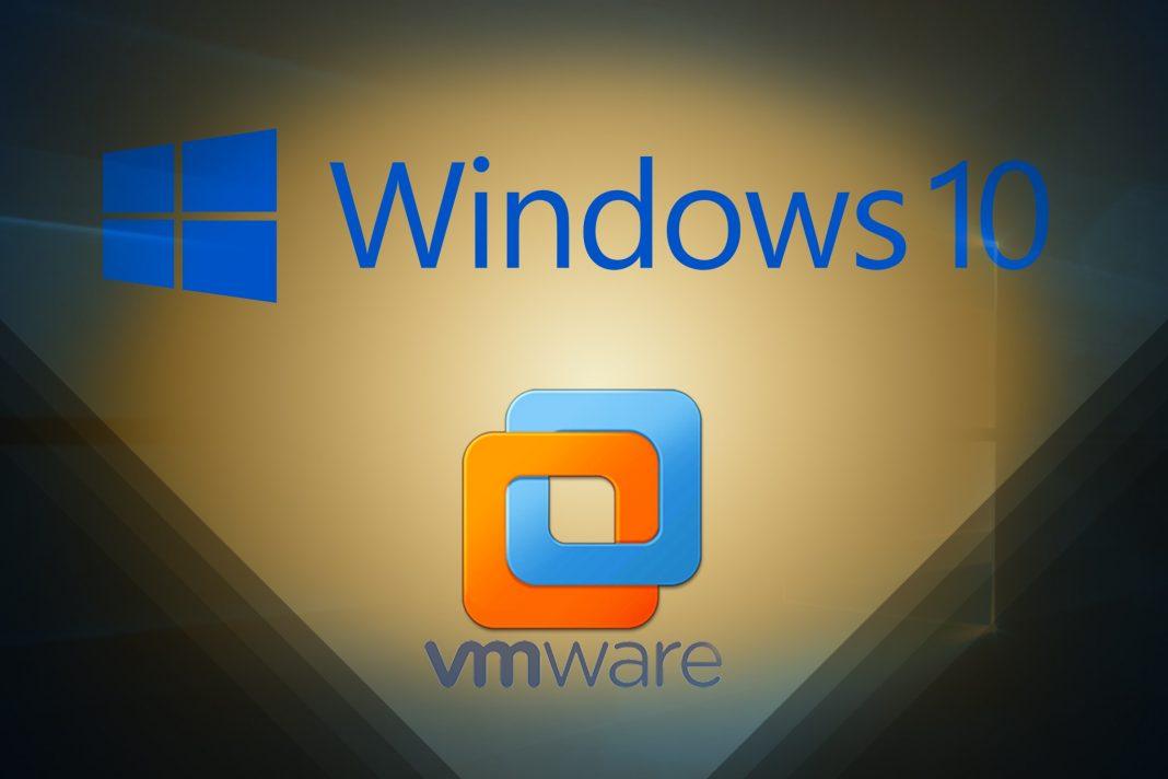 Install Windows 10 in VMware