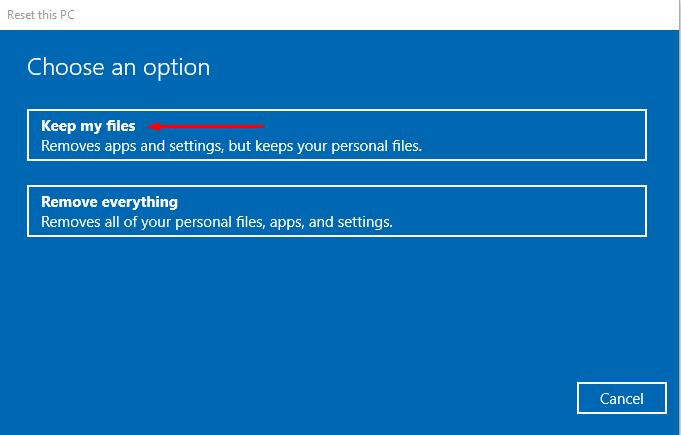 Windows 10 black screen with cursor