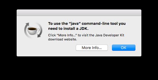 Java Command-line Tool Notification